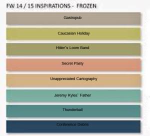 frozen Palette