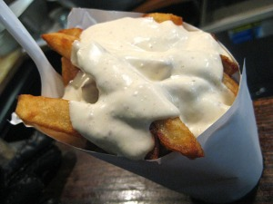Pommes Frites with Mayonnaise